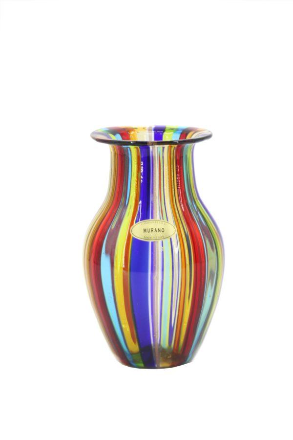 Multicolor vase - Murano - Campanella Livio 1