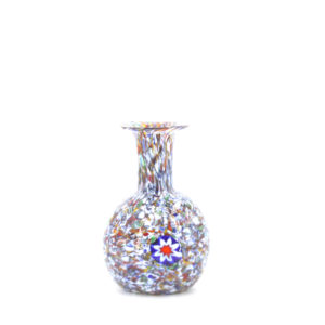 R.C.R. - Murano – Vase Multicultural colour vae with melted Murrine