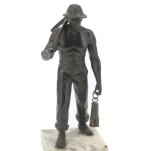 Sculpture - US Miner - Bronze 1