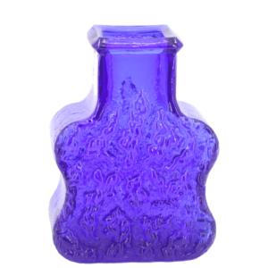 Skruf vase with tree bark decor - Glass - Lars Hellsten 1