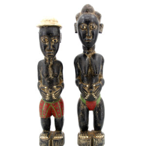 Baoulé Wooden statue Africa Ivory Coast