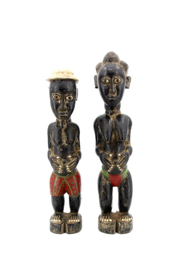 Baoulé Wooden statue Africa Ivory Coast