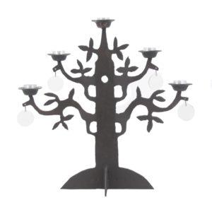 Kosta Boda Bertill Vallien candle holder Livets träd - Tree of Life