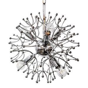 Gaetano Sciolari - Sputnik - Ball Pendant Lamp Vintage Chromed 1
