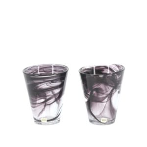 """Kosta Boda - Two Glasses from the """"Mine"""" serie by Ulrica Hydman-Vallien 1"""